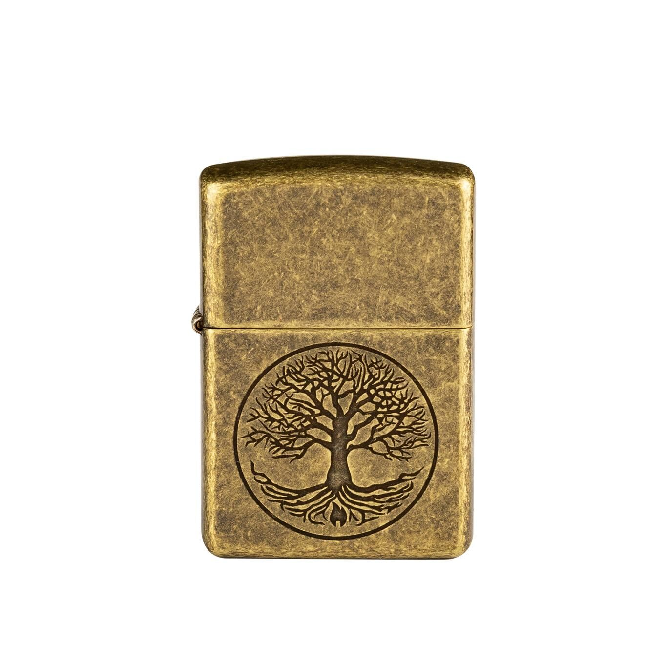 Zapalniczka Zippo 29149 Tree of Life Antique Brass