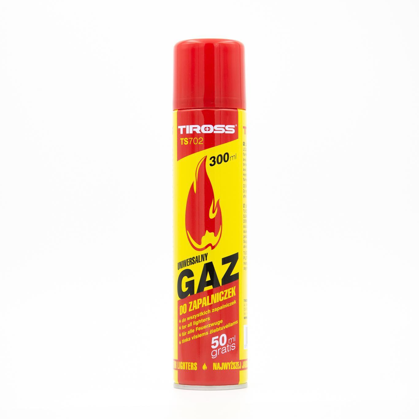 Gaz Tiross 300ml Butane Gas TS702
